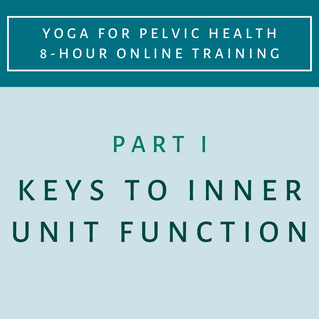 Part 1 - Keys to Inner Unit Function